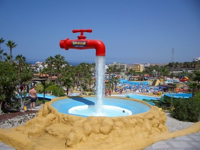 Floating Faucet Fountain, Spain
