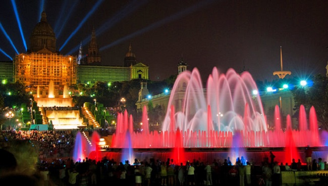 The Magic Fountain of Montjuïc, Spain