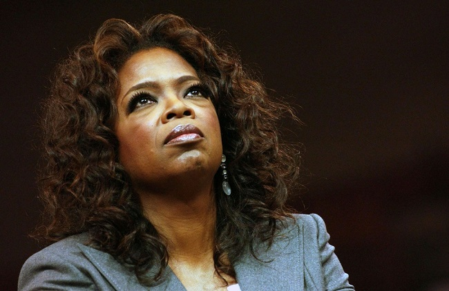 Oprah Winfrey had a history of abuse and poverty