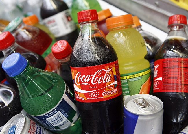 Soda and carbonated drinks