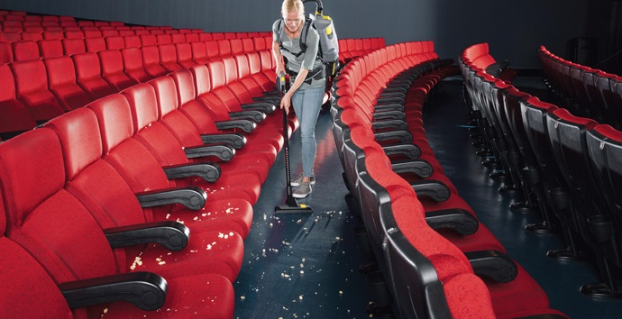 Theater cleaning schedules