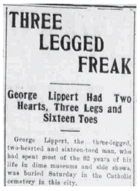 George Lippert born death