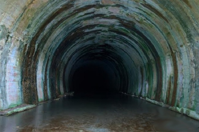 Murky tunnel