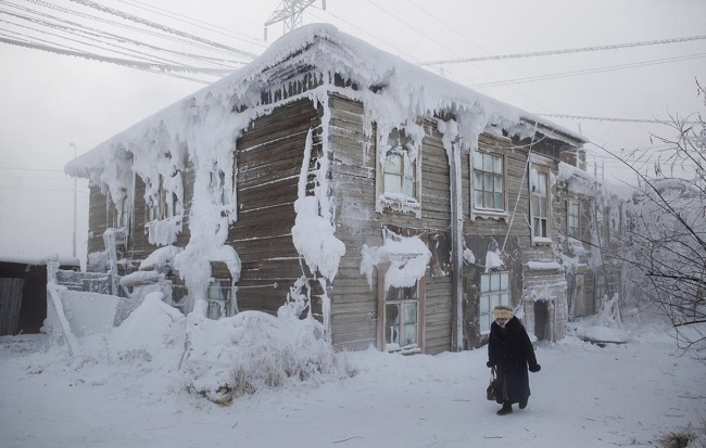 vegetables in Oymyakon