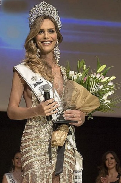 Angela Ponce miss spain