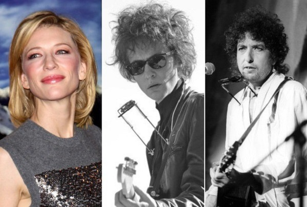 Cate Blanchett as Bob Dylan