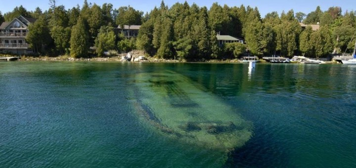The 15 Most Beautiful Sunken Ships On The Planet