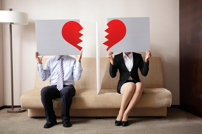 Divorce and heart attack