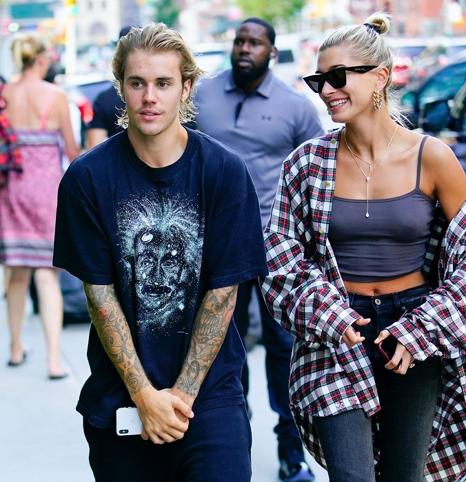 Justin bieber and hailey baldwin engagement