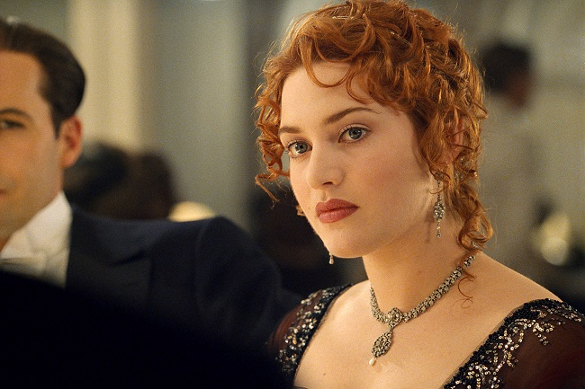How did Kate get the role in titanic