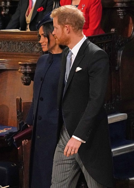 Inappropriate moment Meghan markle prince harry