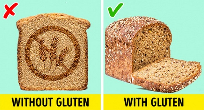 Products without gluten