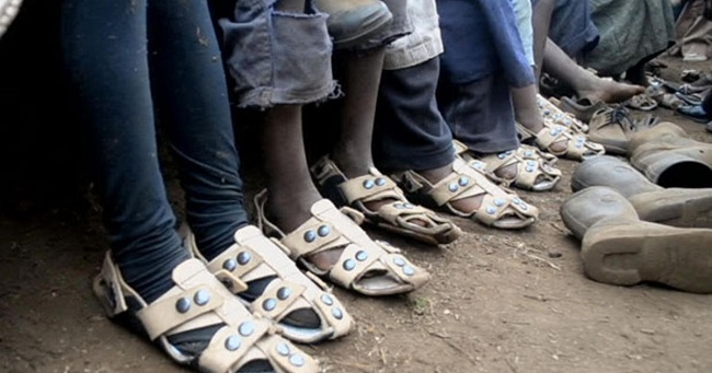 The Shoe that Grows with you