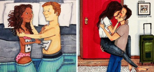 These Illustrations are Relatable for Every Couple in Love