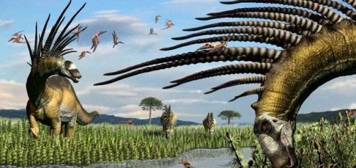 Researchers Discover A New Dinosaur That Had A Cool Large Spiked Mohawk