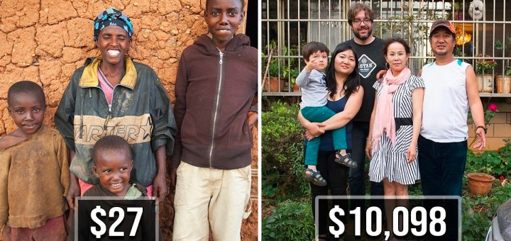 This Is What The Lives Of Poor And Rich People Looks Like From Around The World