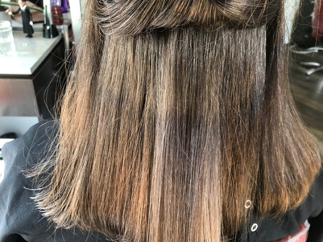 Hair changes during and after pregnancy