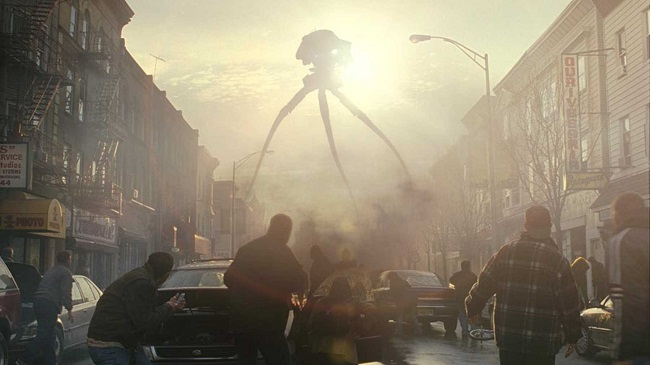 The War of the Worlds hysteria