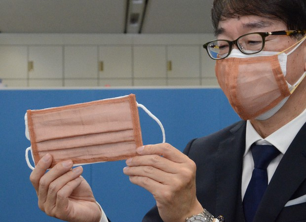Japan's Copper Fiber Mask Can Kill COVID-19 Virus Particles In Just 4 Hours