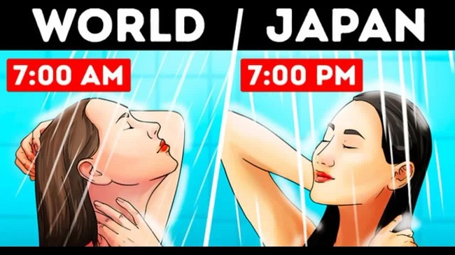 Why Majority Of The Japanese Prefer To Bathe In The Evenings