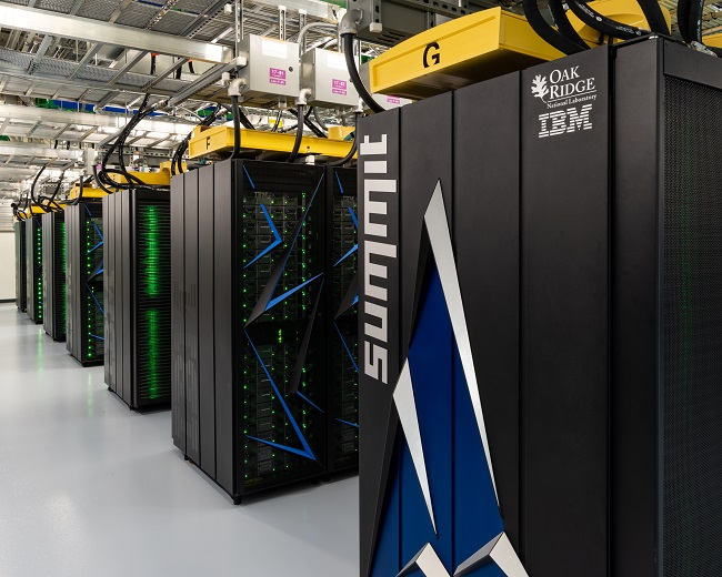 SUMMIT is the second-fastest supercomputer