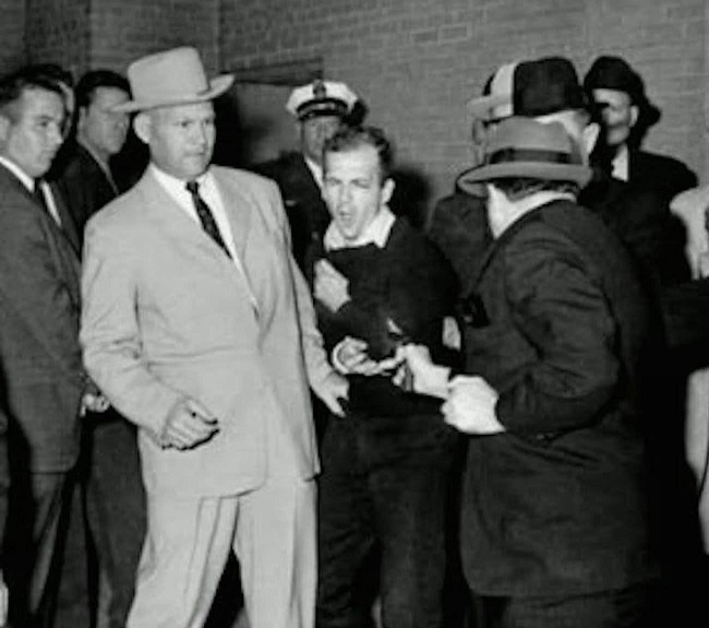 Oswald was shot by Jack Ruby