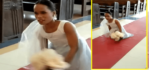 Philippines Bride Born Without Legs Abandons Wheelchair to Walk Down The Aisle