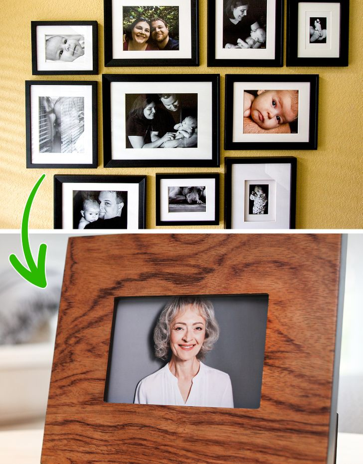 Creating a separate slot for all photos of your family or friends