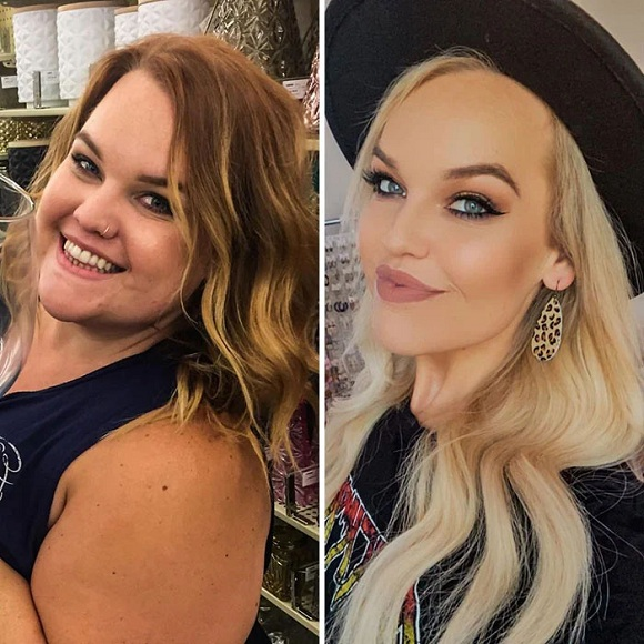Her last ex-boyfriend wasn't the cause which drove her to lose weight