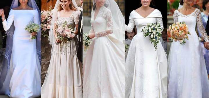 The Most Stunning Wedding Dresses That Made A History