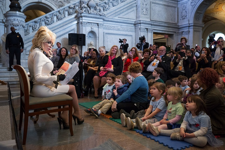 Her Imagination Library distributes more than 130 million books to children