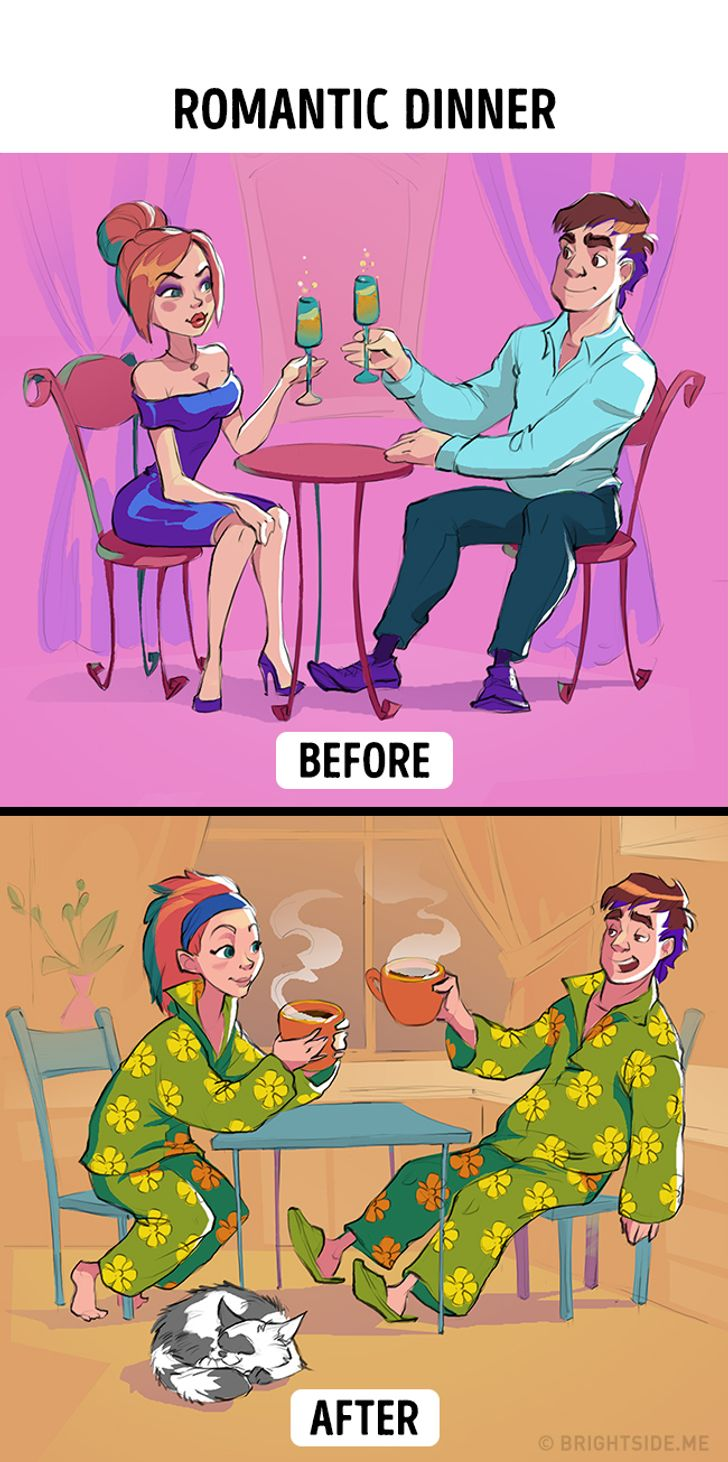 Romantic dinners will be a bit different