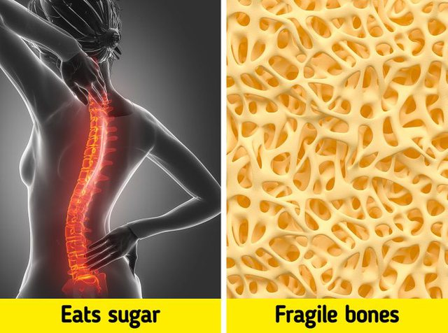 Your bones become strong and healthy