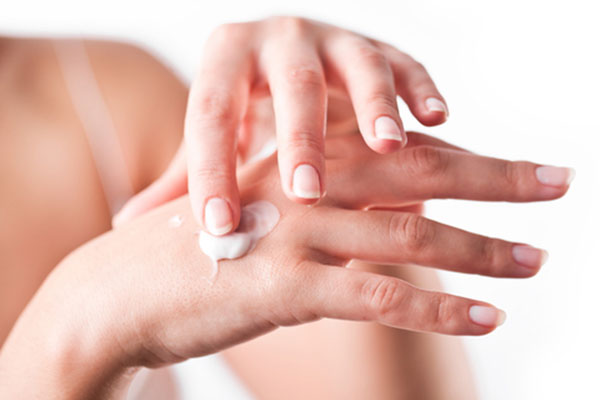 Protect your hands with sunscreen