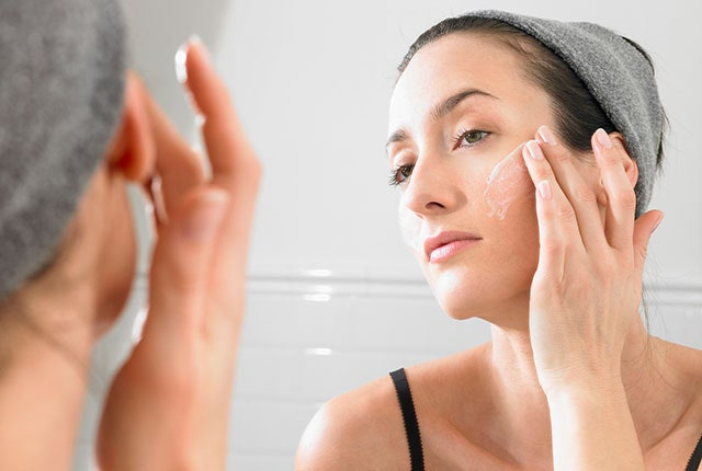 Your skin may be irritated