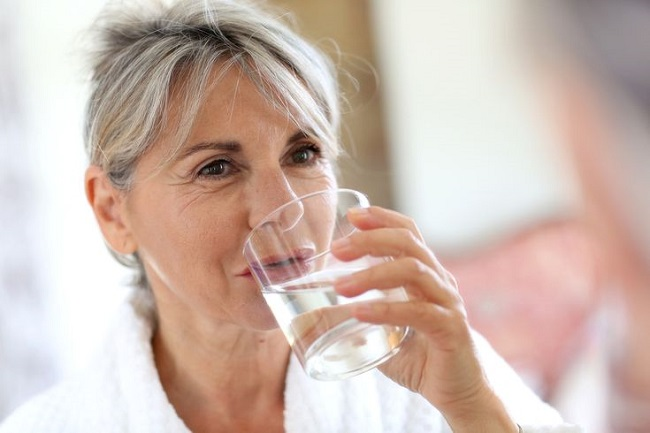 Not hydrating yourself properly