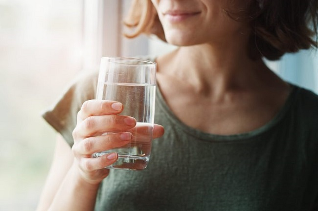 Eight glasses of water a day