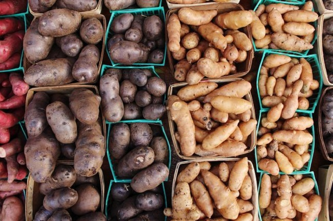 Different Type of Potatoes