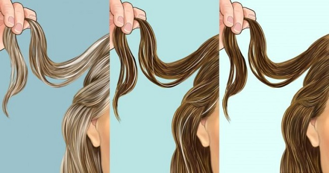 Stages Of Hair Graying