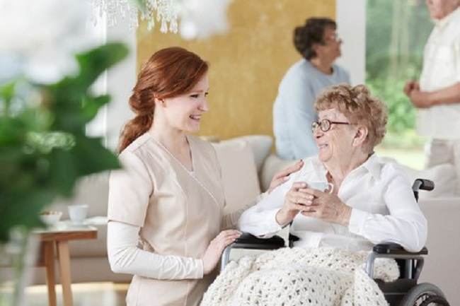 Move to an assisted living facility