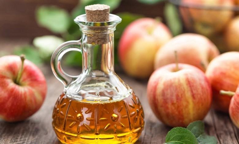 فوائد خل التفاح للقولون