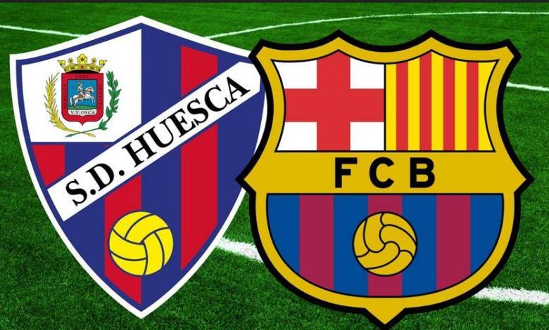 برشلونة ضد هويسكا