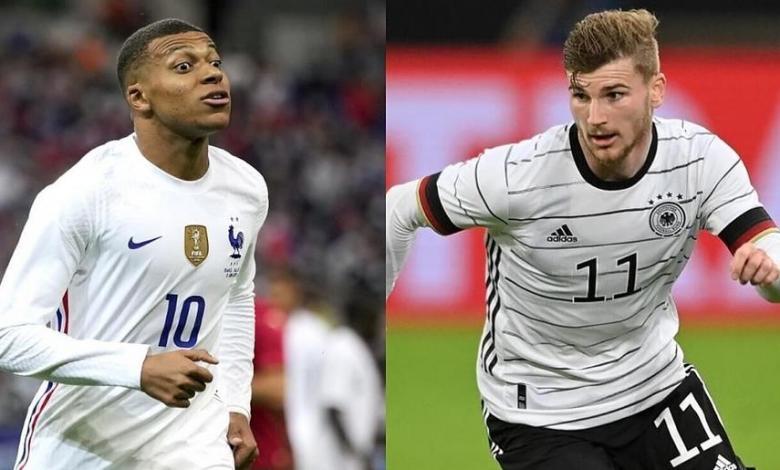 موعد مباراة فرنسا وألمانيا اليوم والقنوات الناقلة في في بطولة يورو 2020 - 2021