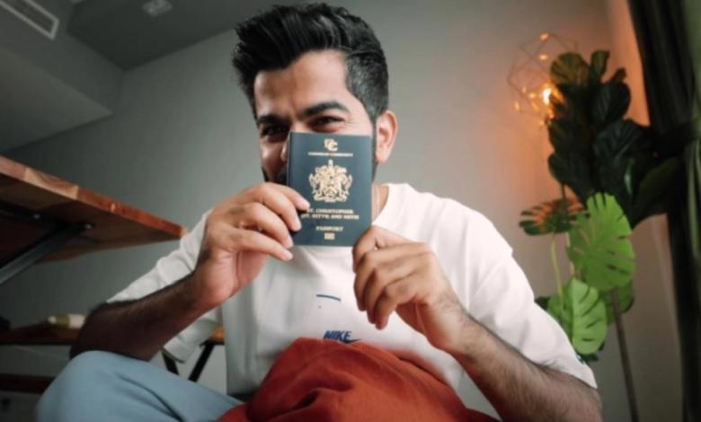 حصل عليه جو حطاب .. جواز السفر سانت كيتس ونيفيس يسمح لك بدخول 156 دولة