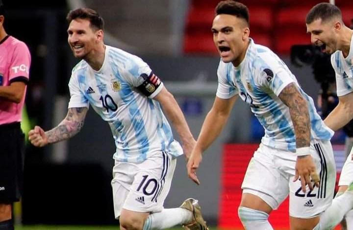 منتخب الأرجنتين يقصي كولومبيا ويواجه البرازيل في نهائي كوبا أمريكا 2021