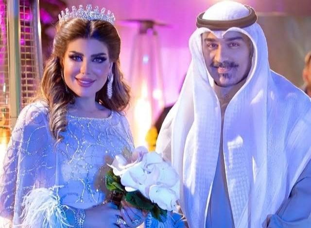 فيديو زواج شهاب جوهر من الفنانة ألهام الفضالة بشكل رسمي