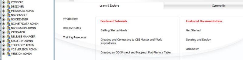 Configuring Oracle Data Integrator ODI 12C (Extension of EPM 11.2.0 Setup)