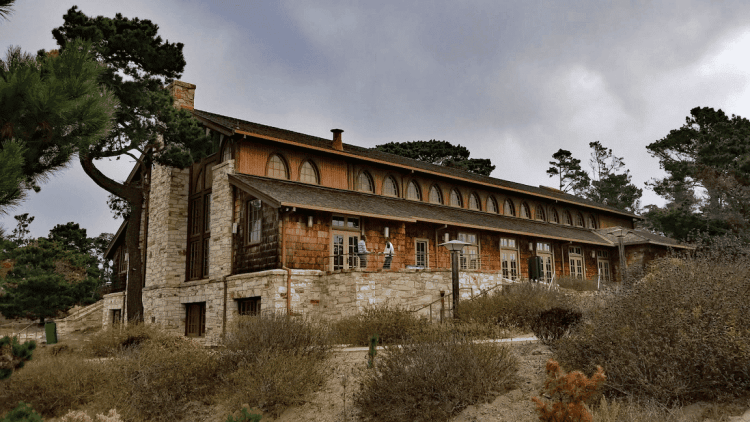 Historic Merrill Hall is a popular conference venue in the Monterey Peninsula