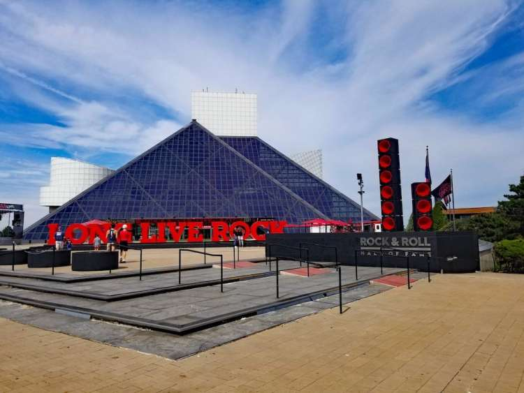 Rock and Roll Hall of Fame, Cleveland Ohio