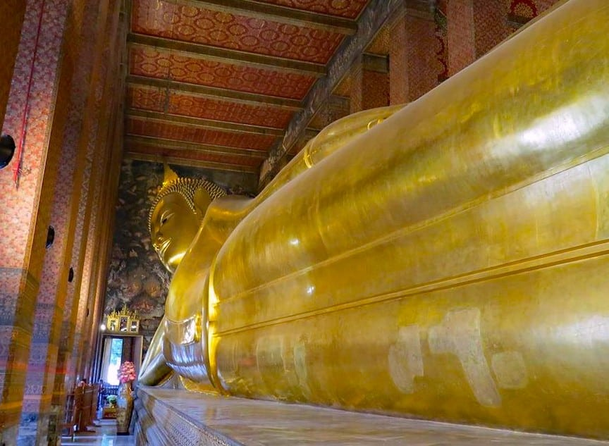 The Reclining Buddha in One of Asia's most Instagrammable cities is Bangkok